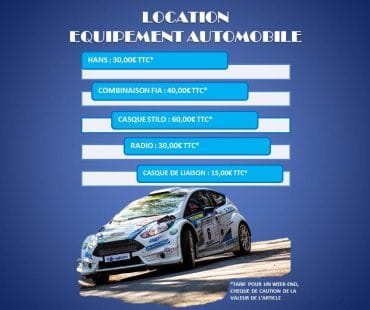 LOCATION EQUIPEMENT AUTOMOBILE
